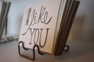Wouldn't you love to give this card to a certain Mister or Mrs?  Or just get one in the mail from a friend?