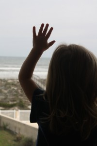 I wanna go to the beach mommy!