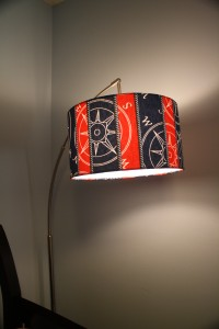 This lamp was designed by Ashley, our sweet friend in Durham.  LOVE IT!