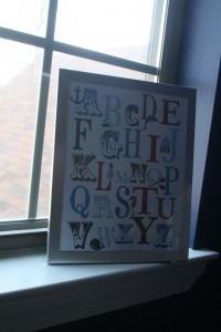 Thank you Jenn for getting LB this for a shower gift!  It sits perfectly in the window sill of his library nook!