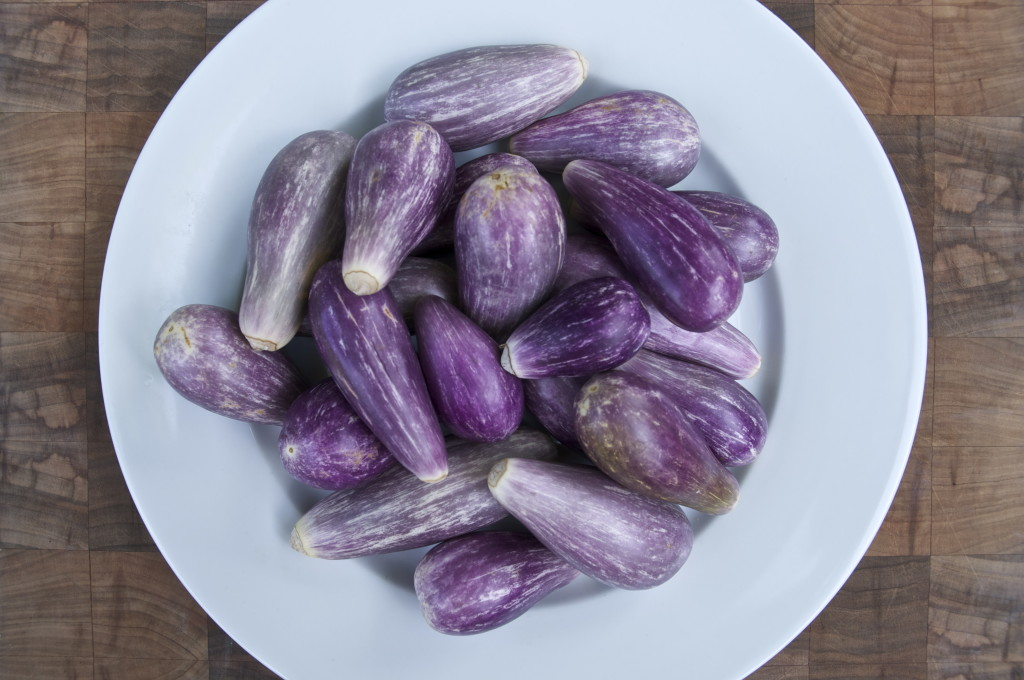 Eggplants from the Garden
