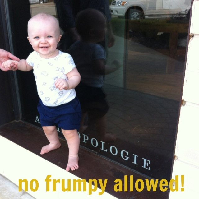 no frumpy allowed