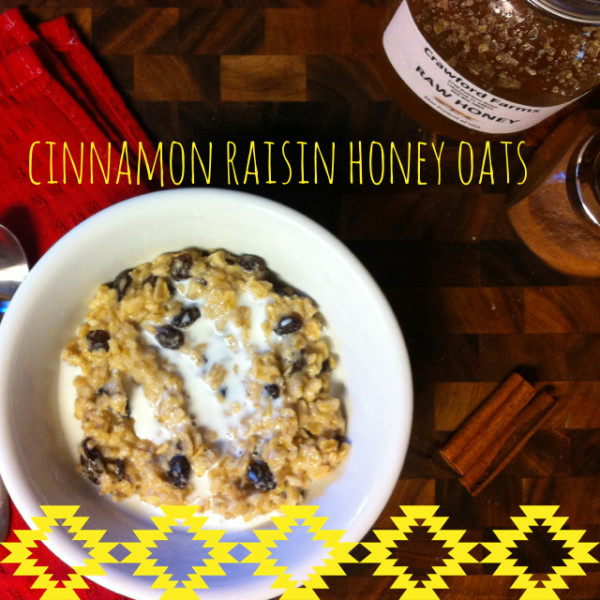 cinnamon raisin honey oats