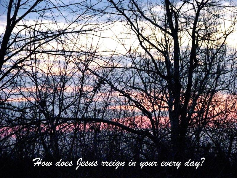 Jesus Reigns