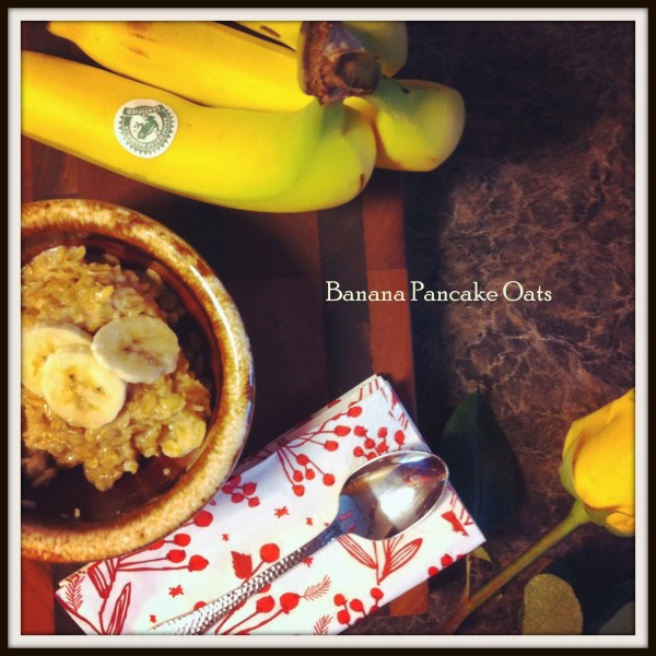 banana pancake oats