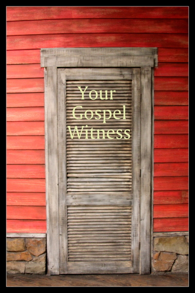 Glory and Grace: Your Gospel Witness