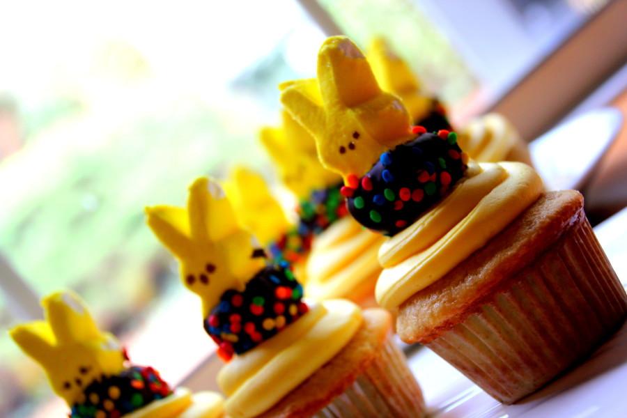 Spring Peep Cupcakes