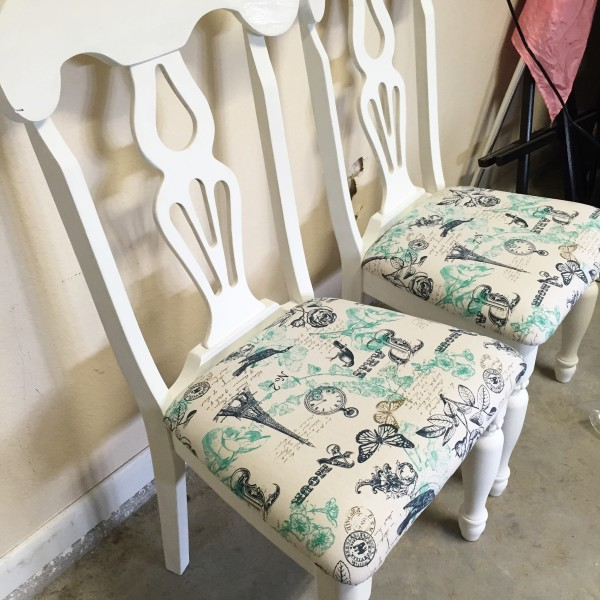 DIY Parisian Chairs