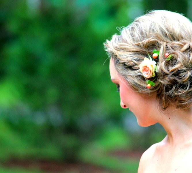 Wedding Hair and Flowers