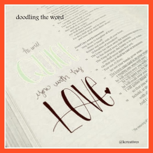 doodling the word