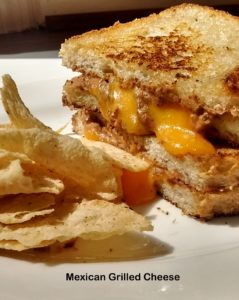 Perfectly gooey grilled cheese